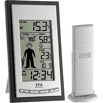 TFA Wetter Boy 35.1084 drahtlose digitale Wetterstation Prognosen für 12 bis 24 Stunden