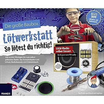 Assembly kit Franzis Verlag Lötwerkstatt 65352 14 years and over