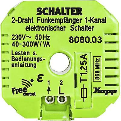 Kopp Free Control 1-channel Wireless receiver unit