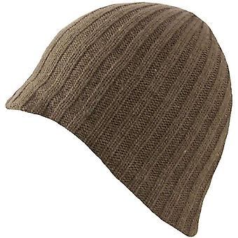 Dents Lambswool Blend Knitted Beanie - Sage