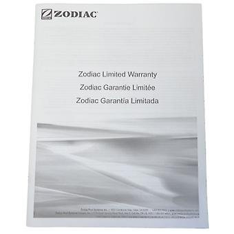 Zodiac H0333803 Limited Warranty Booklet Guide