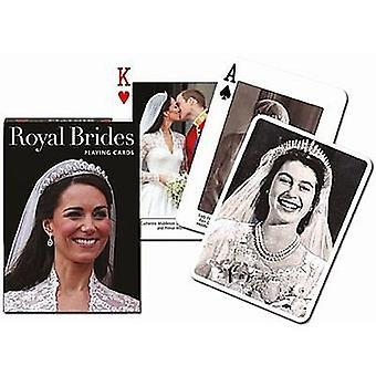 Noivas real conjunto de cartas de jogar