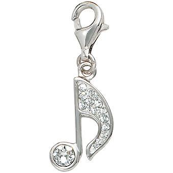 Pojedynczy kolczyki Uwaga 925 srebro rodowane pozłacane srebro z kryształów urok