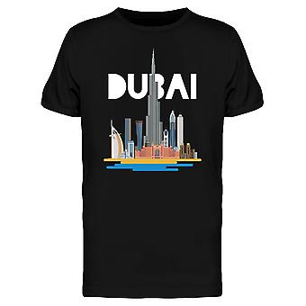 City Of Dubai Skyscrapers Tee Men's -Image by Shutterstock