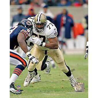 Willie Roaf Action Photo Print