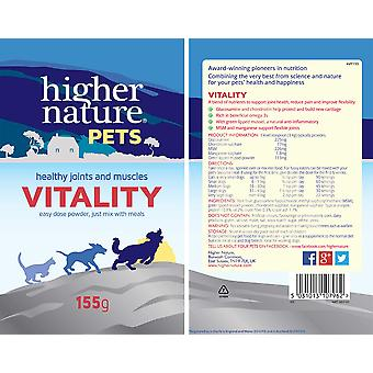 Higher Nature, Pets Vitality 155g powder