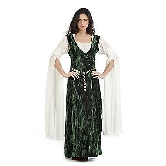 Middelalderslott kvinne Aldara damer drakt adelskvinne jomfru berømte damer drakt