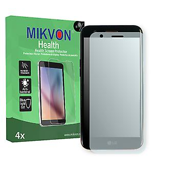 LG K10 (2017) Screen Protector - Mikvon Health (Retail Package with accessories) (reduced foil)