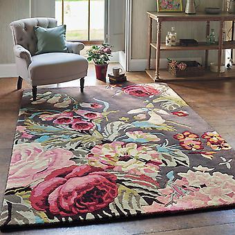 Stapleton Rugs 45302 In Rosewood By Sanderson
