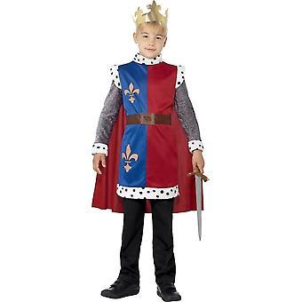 King Arthur Medieval Tunic, Costume, Large Age 10-12