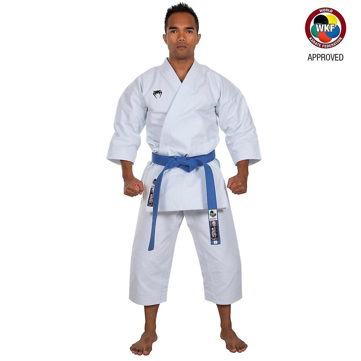 Venum WKF Approved Elite Kata Karate Gi blanc
