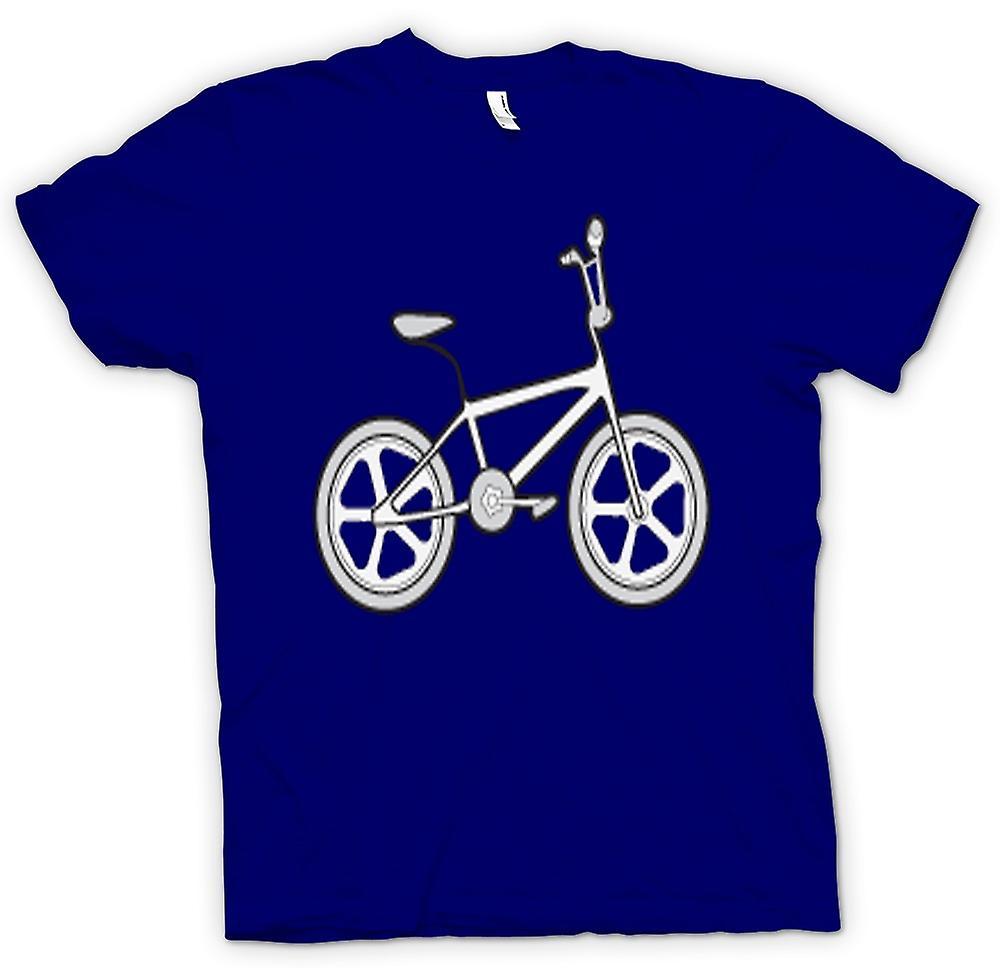 Herr T-shirt-Vintage 80s BMX cykel