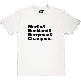 Skład zespołu Coldplay Men's T-Shirt
