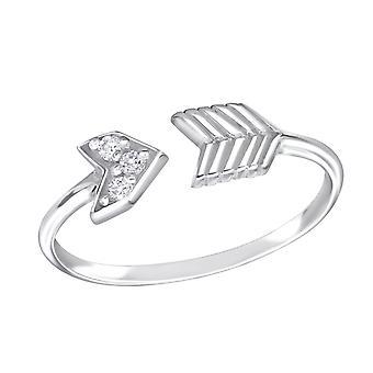 Flecha - Jewelled de plata de ley 925 anillos - W15064X