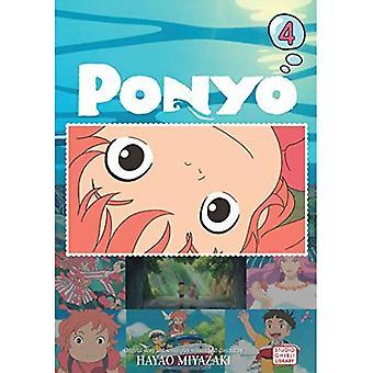 Ponyo on the Cliff Film Comc, vol 4 (Ponyo Film Comic)