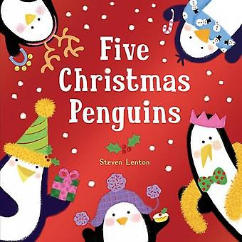 Cinq pingouins de Noël