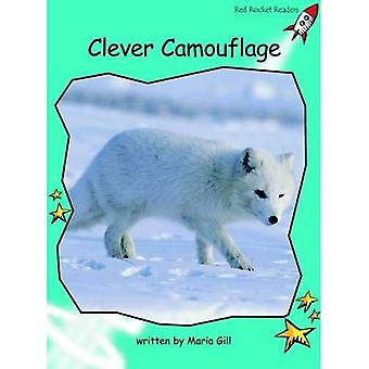 Clever Camouflage: Level 2: Fluency (Red Rocket Readers: Non-fiction Set A)