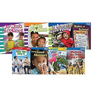 Autorégulation: Respecter les autres 8-Book Set (temps pour les enfants (enseignant créé matériaux))