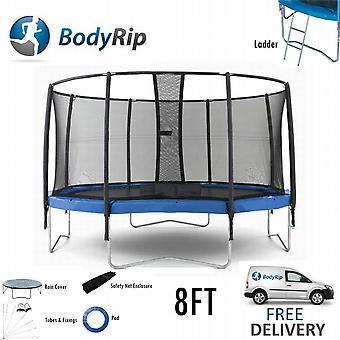 BodyRip Complete 8FT Trampoline Set