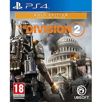 Tom Clancys der Division 2: Gold Edition (PS4)
