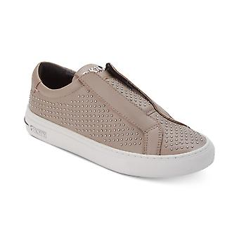DKNY Womens Conner Leather Closed Toe Boat Shoes