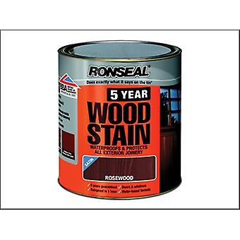 5 YEAR WOODSTAIN ROSEWOOD 250 ML