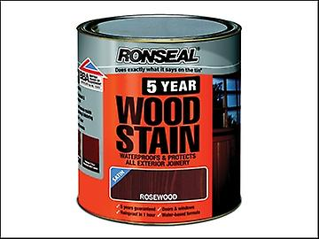 Ronseal 5 Year Woodstain Rosewood 250ml