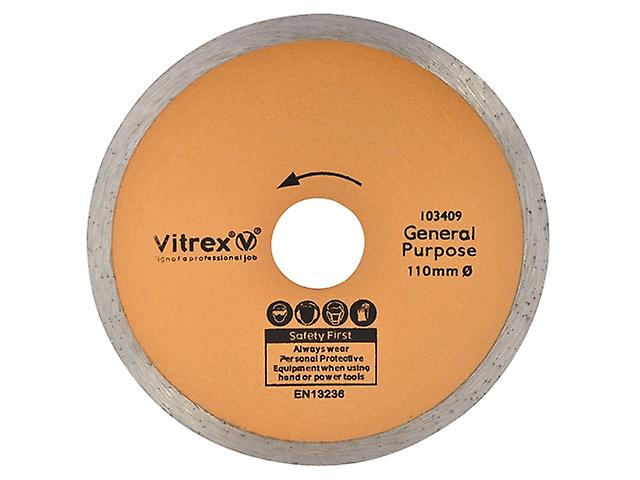 Vitrex 10 3409 Diamond Blade Standard 110mm
