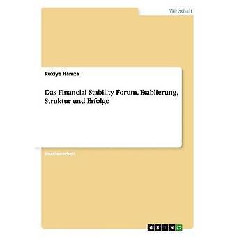 Das Financial Stability Forum. Etablierung Struktur und Erfolge by Hamza & Rukiye