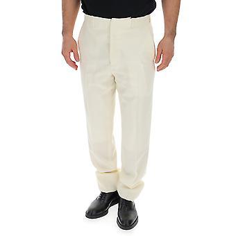 Dior White Cotton Pants