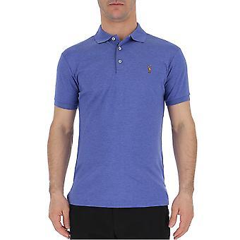 Ralph Lauren blau Baumwoll-Polo-Shirt