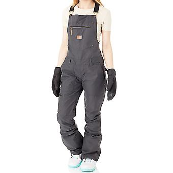 DC Black FA17 Collective Womens Snowboarding Dungarees