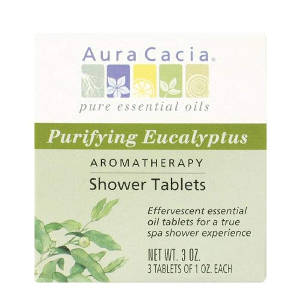 Aura Cacia TabletsPurifying Shower Ea Eucalyptus3 8wnPXkON0