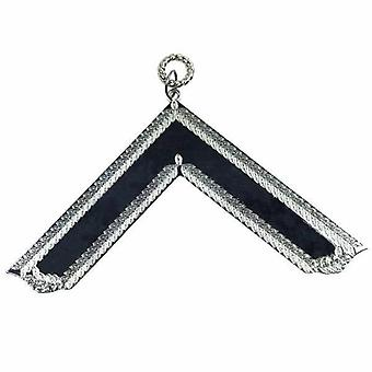 Masonic Craft Lodge Officer Collar Jewel Silver