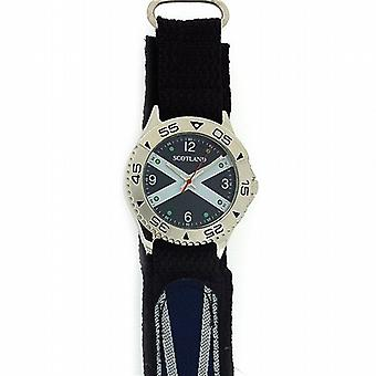 Boxx Analogue Scotland Scottish Flag Easy Fasten Strap Mens Casual Watch BOXX159