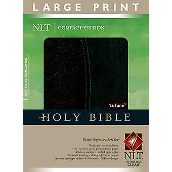 Large Print Compact Bible-NLT (large type edition) - 9781414334240 Bo