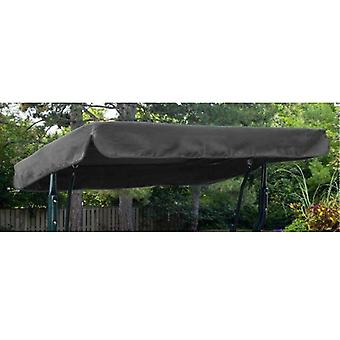 Gardenista® Grey Replacement Canopy for 2 Seater Argos Malibu Swing Seat