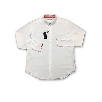 Pal Zileri shirt in white with red contrast