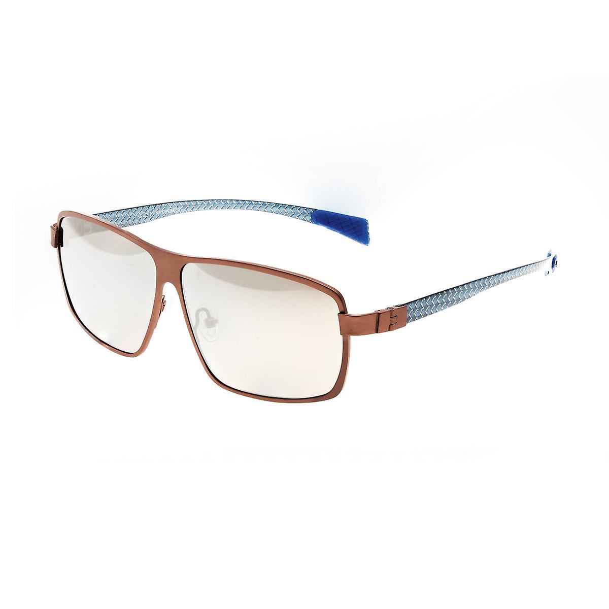 Race Fincrustation titane Polarized lunettes de soleil - bcourir argent