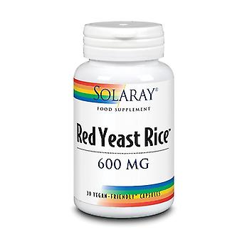 Solaray Red Yeast Rice 600mg Capsules 30 (1502)