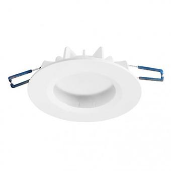 1 Light Recessed Downlight Matt White Ip44