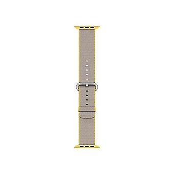 Apple 42mm nylon yellow strap