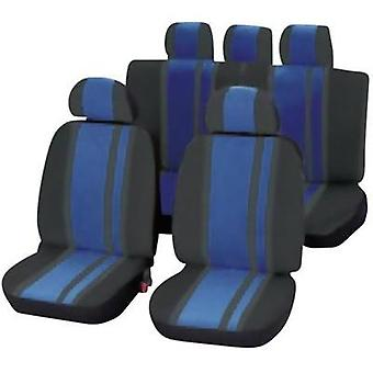 Seat covers 14-piece Unitec 84959 Newline Polyeste