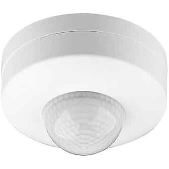 Ceiling, Wall PIR motion detector Goobay 96007 360 ° Relay White IP20