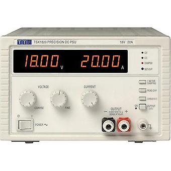 Bench PSU (adjustable voltage) Aim TTi TSX1820 0 - 18 Vdc 0 - 20 A 360 W No. of outputs 1 x