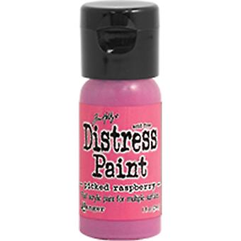 Distress Paint Flip Cap 1oz-Picked Raspberry TDF-53163