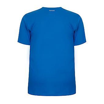 T-shirt manches courtes bleu SLAZENGER