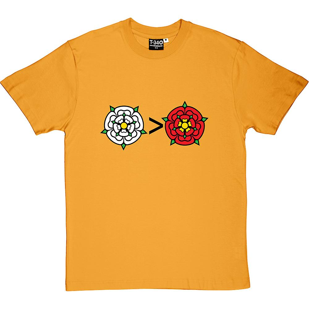 Yorkshire Is Greater Than Lancashire Men's T-Shirt