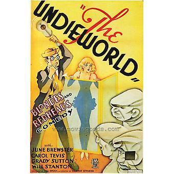 Undieworld film affisch Skriv ut (27 x 40)
