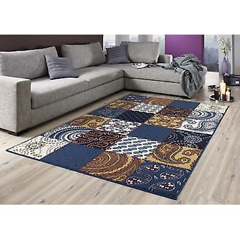 Designer carpet patchwork style | various colors